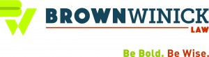 BrownWinick_Logo_HorMain_Tag CMYK for LIGHT BKGS